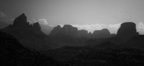 On our 8 hours drive from Simien mountains to Aksum, nearly all of it on gravel roads...