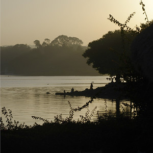 Dawn over Lake Tana, Ethiopia's largest lake