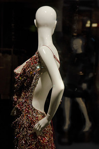 Even mannequins have rivals and look over their shoulders