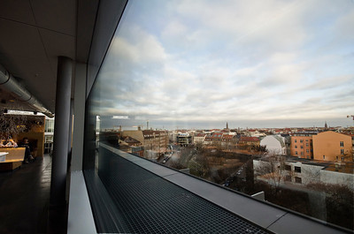 From the top floor of our hotel