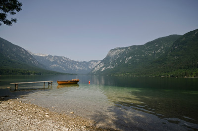 Scenes around picture postcard perfect Lake Bohinj (4)