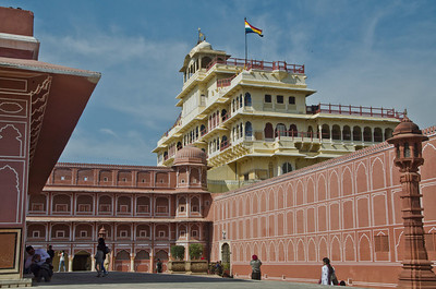 At the other extreme of society, the Maharajah's Palace...