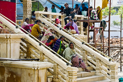Gujarat is one of the less well-visited states by tourists, and even on the first day in the capital, Ahmedabad, it was evident that the locals were as interested in looking at us as we were at them