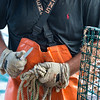 Lobstering, Casco Bay, Maine with Jim Buxton, August 2013.