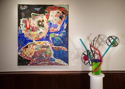 Deborah Moran's Art in Bloom Exhibition