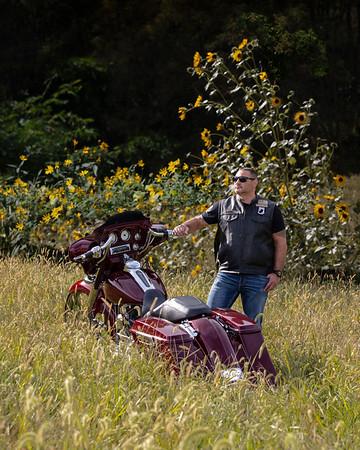 Ryan and His Harley