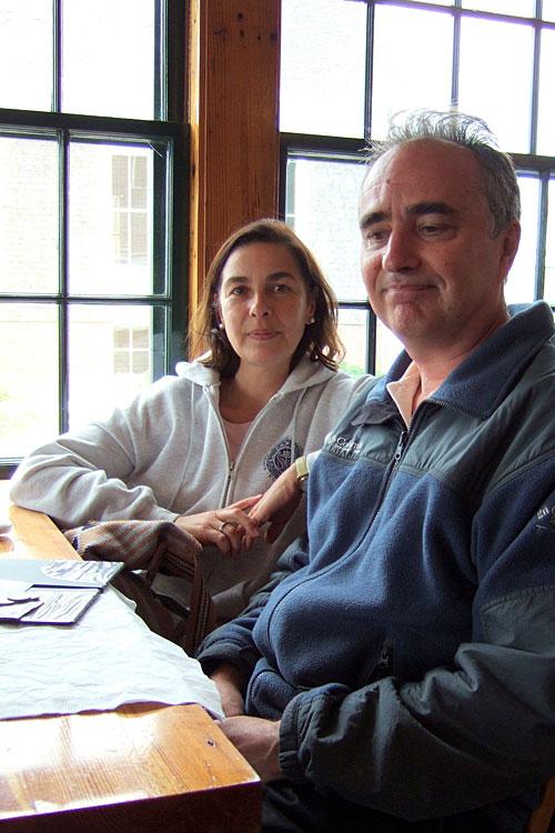 Isabelle Llano & Alan Marty