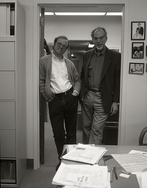 Gordon Fain & John Lisman