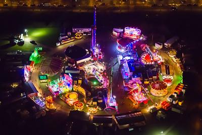 Fair at Campbell Park, Milton Keynes