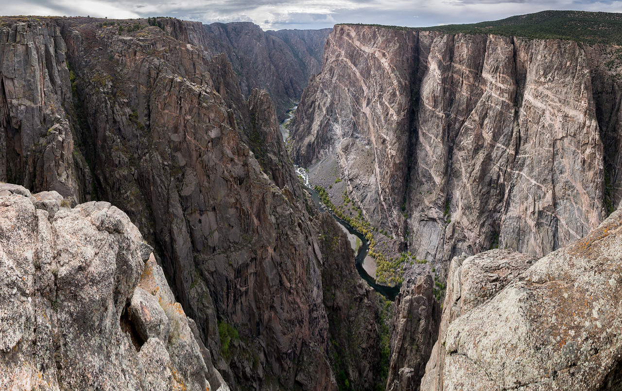painted Wall of The Black Canyon of the Gunnison