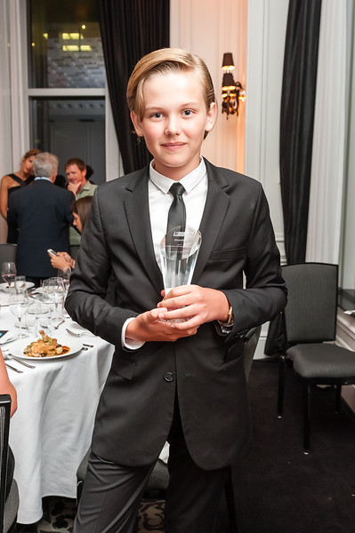 "Garrett Wareing 2014 Toronto International Film Festival - ""The Creative Coalition's Spotlight Initiative Awards"" - The Trump Hotel Toronto, Canada - 05.09.14"