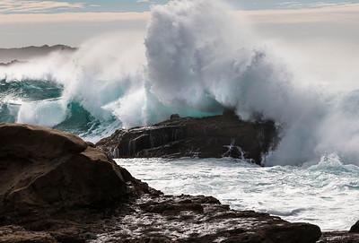 Big Sur, big surf