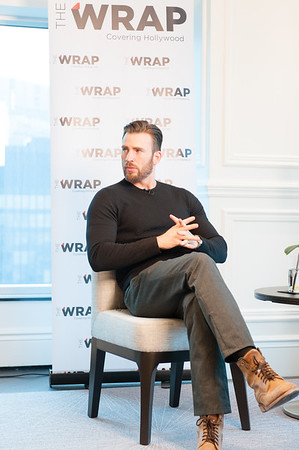 Chris Evans 2014 Toronto International Film Festival - TheWrap - inside America at The Trump Hotel Toronto, Canada - 05.09.14