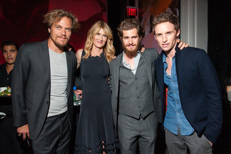 "Michael Shannon, Laura Dern, Andrew Garfield, Eddie Redmayne 2014 Toronto International Film Festival - ""99 Homes"" - America at The Trump Tower Toronto, Canada - 08.09.14"