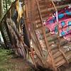 Train wreck, Whistler BC