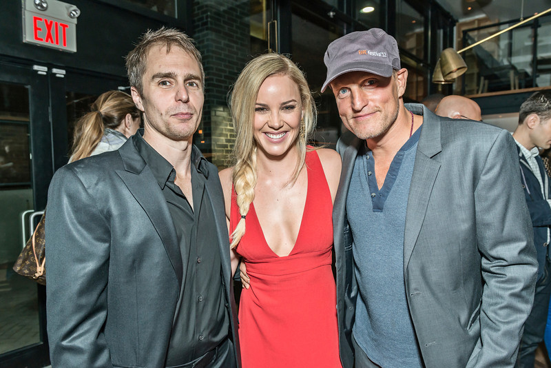 Sam Rockwell, Abbie Cornish & Woody Harrelson