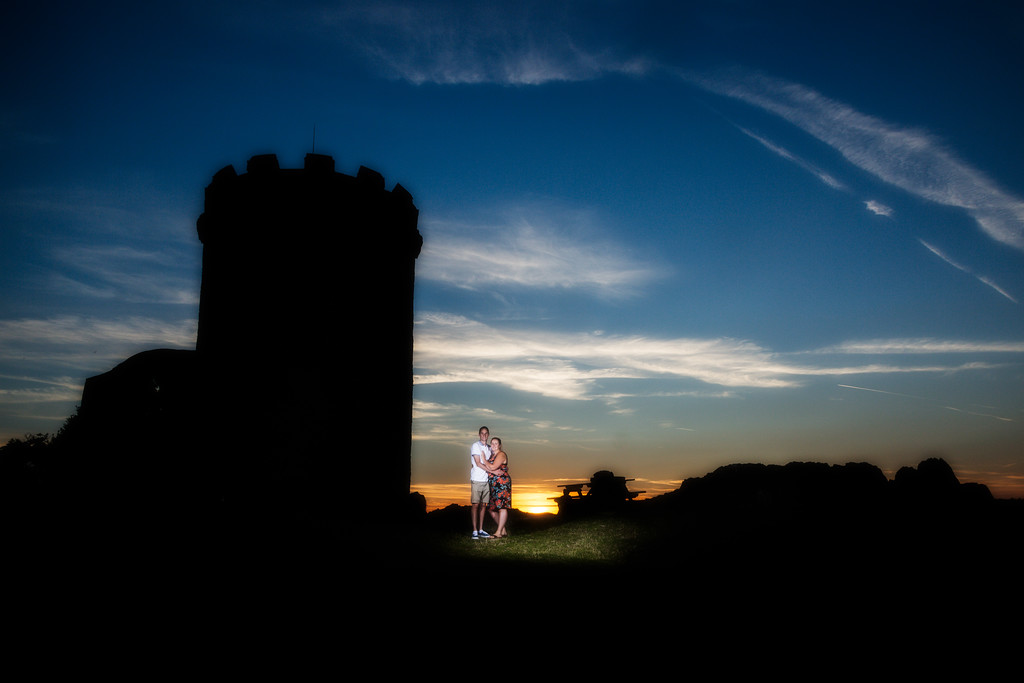 engagement photoshoot - Bradgate park