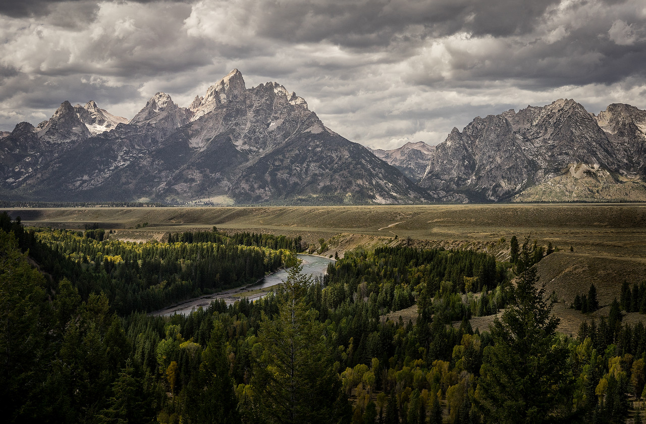 Tetons and The Snake River