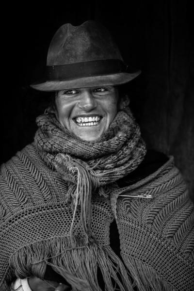 Portrait of a Quechua Woman