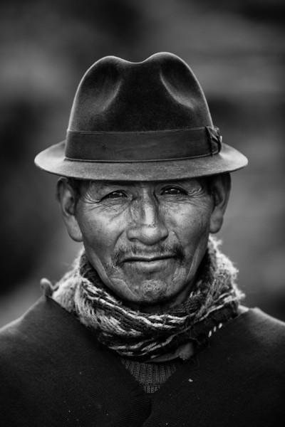 Portrait of a Quechua Man