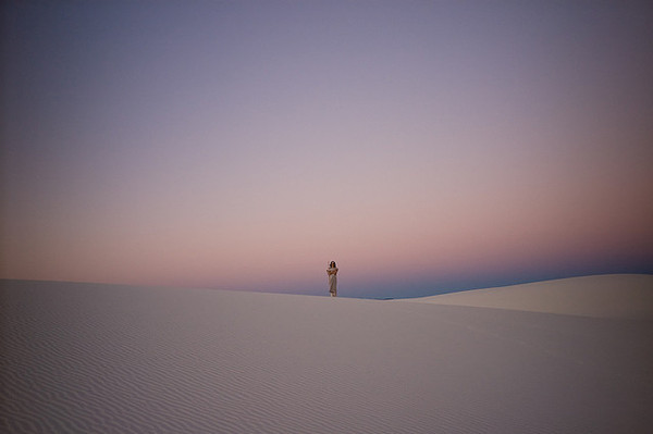 Apparition<br /> White Sands, New Mexico