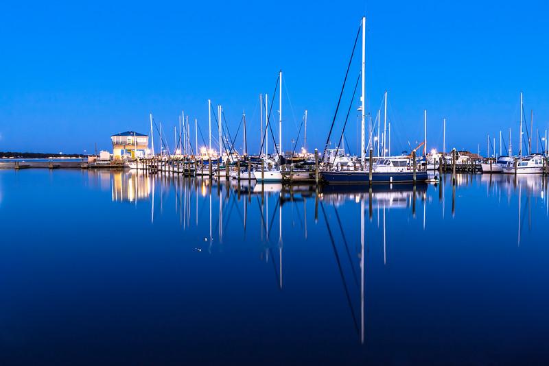 """Twilight Slumber"" - Long Beach Harbor, MS"
