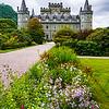 Inveraray Castle ancestral home of the Duke of Argyll - Scotland