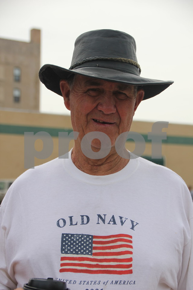Saturday, June 6, 2015 Fort Dodge held the annual Frontier Days parade. Bill Murphy came to see the parade and was gracious to allow me to grab a  quick photo of him.