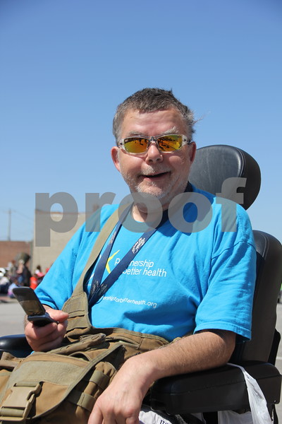 Seen here is: Robert Butz, at the Frontier Days Parade that took place on Saturday, June 4, 2016 in Fort Dodge.