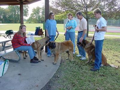 Frontier Leos gathering years ago