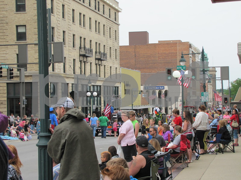 A huge crowd was in attendance for the 2014 Frontier Days Parade in Fort Dodge.