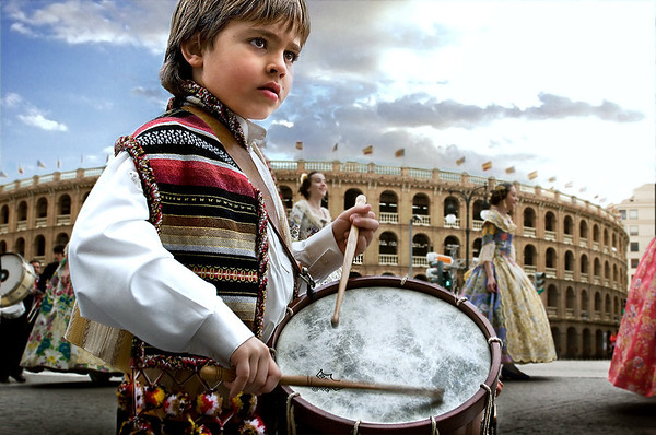 Young Passion | Las Fallas Festival Valencia Spain