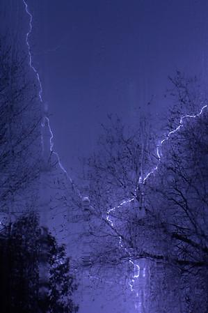 lightning from last night's VT thunderstorms