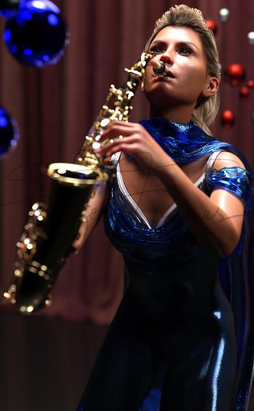 Saxophone in harmony