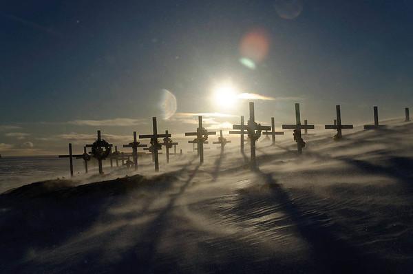 Snow storm in Ittoqqortoormiit