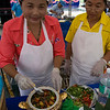 The durian cooking contest features main dishes and deserts with durian as the primary ingredient.