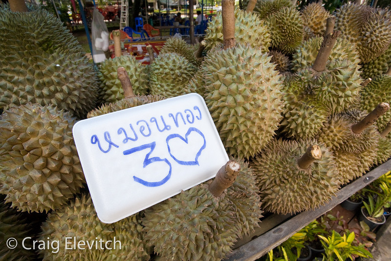 Durian lovers unite in Chanthaburi for the festival.