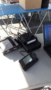 Auto tuner, SCS modem, Icom 7100, HF and VHF Winlink