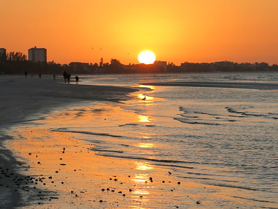 Sunrise Walkers, Ft Myers Beach, Florida