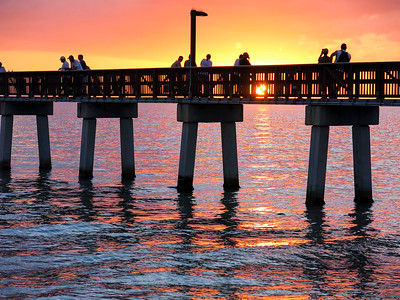 Ft Myers Beach Pier, Florida