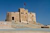 The Fujairah Fort in Fujairah, UAE.