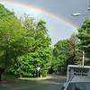 Unusual Rainbow Over Bedford Village Near Intersection of State Routes 22 and 172