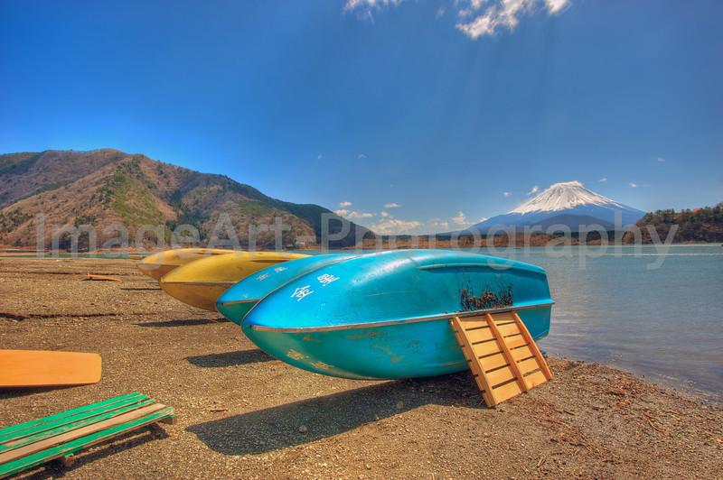 Fuji Five Lakes, Yamanashi Prefecture, Japan