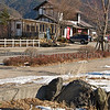 A roadside restaurant close to Mount Fuji, Japan Fuji Five Lakes, Yamanashi Prefecture, Japan