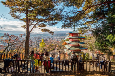 Mt. Fuji and Chureito Pagoda