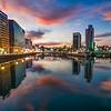 Fukuoka City Skyline