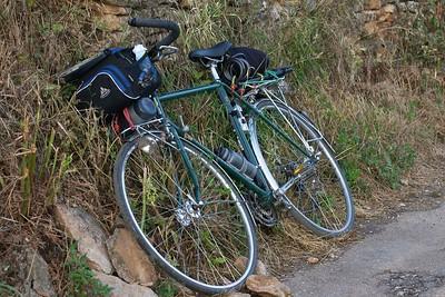 Bike leaning