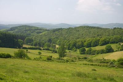 Morvan hills