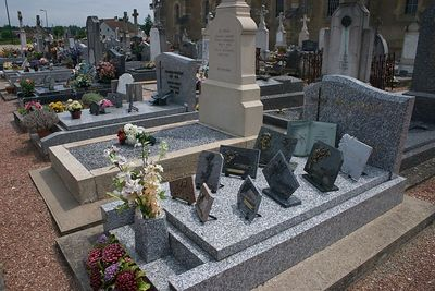 Village graves