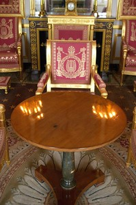 Napoleon surrender table